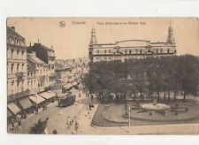 Ostende Place Marie Jose & Rue Adolphe Buyl Belgium 1924 Postcard 286a