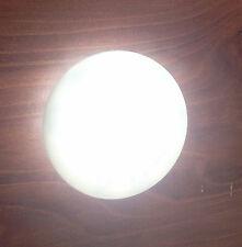 RV MARINE BOAT FLUSH MOUNT LED WARM WHITE ROUND COURTESY LIGHT IP67 WATERPROOF