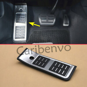 Non-slip Footrest Foot Rest Stainless Steel Rubber Pedal For Audi A4 B9 A5 LHD