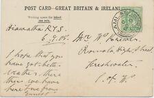 "2463 SCOTTISH VILLAGE POSTMARKS ""LAMLASH / 214"", Isle of Arran (27 mm, code ""C"")"