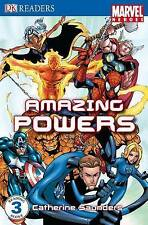 (Very Good)-Marvel Heroes Amazing Powers: Level 3 (DK Readers Level 3) (Paperbac