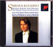 Esa-Pekka SALONEN: SIBELIUS KULLERVO Marianna Rorholm Jorma Hynninen SONY CD 93