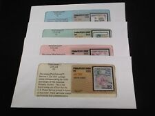 """$6 PhilaTelecards  """"STAMP COLLECTING"""" unique sets of (4)"""