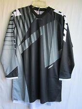 "MEN'S motocross jersey ONE INDUSTRIES ""ATOM"" small BLACK/GREY 51123-102-051"