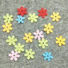 100/500Pcs 15*15mm Ribbon Flowers Appliques/Headdress/Clothes Decoration DIY