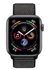 Apple Watch series 4 GPS caja aluminio Gris/ Correa Loop deportiva negra - 40mm