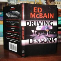 McBain, Ed DRIVING LESSONS  1st Edition Thus 1st Printing