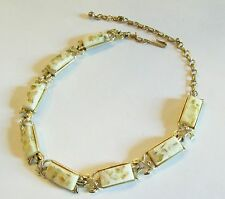 Lovely Vintage Coro Chiffon Confetti Necklace