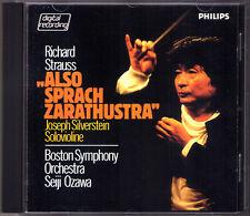 Seiji OZAWA: Richard STRAUSS Also sprah Zarathustra CD Boston Symphony 1982