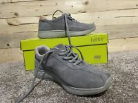 Womens Hotter Solar Trainers Pebble Grey Suede Size 3 Excellent Condition