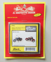 1947 Classic Motorcycles HO 1:87 SCALE LAYOUT DIORAMA JL INNOVATIVE 902