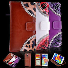 Unbranded/Generic Leather Glossy Mobile Phone Cases, Covers & Skins for Samsung Galaxy S5