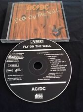 AC/DC FLY ON THE WALL CD OOP BLACK ALBERT PRODUCTIONS AUSSIE AUSTRALIA 4700102