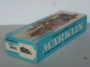 Märklin Leerkarton 3003 von  1963  für die BR 24