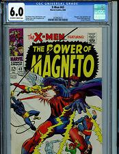 X-Men #43 CGC 6.0  Marvel Comics 1968 Amricons K17