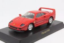 7811 Kyosho 1/64 Ferrari Minicar Collection Vol 1 F40 Red With Tracking Number