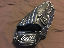 Guess Watches Small Baseball Glove Black Right Hand Thrower Leather Laced NWOT