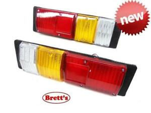 TAILLIGHTS PAIR SUIT HOLDEN RODEO TF 03-08 TRAY CAB CHASSIS TAILLAMP TAIL LIGHTL