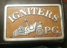 IGNITERS Car Club Plaque Plate NHRA Hot Rod Prince George's County Maryland