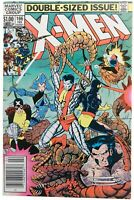Uncanny X-Men 166 Newsstand VF 8.0 First Lockheed Wolverine  Marvel Comic 1982
