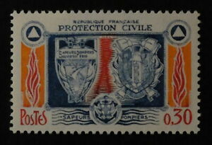 Timbre poste. FRANCE. n°1404. Protection civile