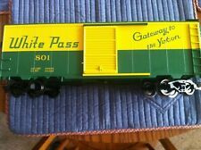 Piko G Scale USED Box Car White Pass Road #801