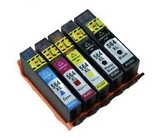5PK HP 564XL INK FOR HP B8558 C5300 6510 6520 5510 7515 7520 7510 7525
