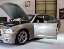 1:24 escala Dodge Charger Daytona R/T 2006 NEW RAY fundido Modelismo Coche MET