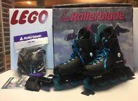 RollerBlade Vintage 1992 InLine Skates Men's 7 Knee Pads Wrist Guard Zetrablade