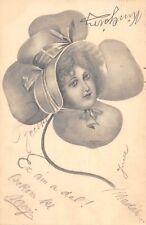 CA179 Femmes Women  clover glamour glamour fashion kolozsvar cluj 1904