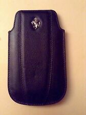 Official licensed Ferrari leather sleeve pouch CG MOBILE for iPhone 4, 4s