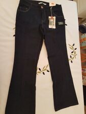 "Ladies BNWT ""Dorothy Perkins"" Navy Denim Bootcut Jeans (Size 10s)"