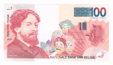 100 Frank/Francs  type James Ensor  1995-2001   Morin 70b   XF