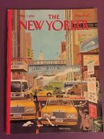 The New Yorker Magazine March 7, 1994 Have a Nice Day by Bruce McCall FREE SHIP