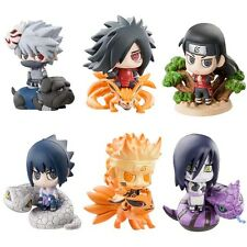 Collections Anime Naruto Mini Figure Toy Figurine 6pcs 5cm