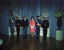 President and Mrs. John F. Kennedy meet Service Academy students New 8x10 Photo