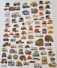 Lot 86 PINS Pin's CAMIONS Trucks Mack Iveco Mercedes ROUTIER et Fier de l'être