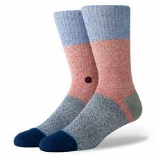 Stance Neapolitan Crew Socks Butter Blend Cobalt Blue Large