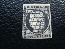 FRANCE - timbre yvert et tellier n° 3 obl (A20) stamp french