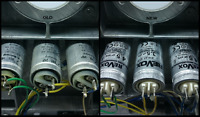 Revox B77,A77,PR99  Precision Ducati Energia MOTOR RUN CAPACITORS + X2 100nf
