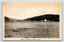 Lac Mercier, Quebec, Canada - SCARCE EARLY 1900s TOWN VIEW - POSTCARD - G4