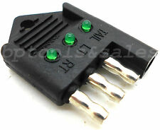 4-Way Trailer Light Tester Circuit Functions Brake Signal Flat Trailer Plug