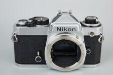 Nikon FE 35mm SLR Film Camera Body Only, Chrome FE, Made in Japan