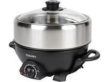 Tayama TRMC-40 Shabu and Grill Multi-Cooker, 4 quart, Black