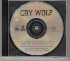 (HI910) Cry Wolf, Face Down In The Wishing Well - 1990 DJ CD