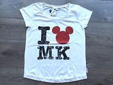 "Tee Shirt DISNEY ""I Love MICKEY"", Taille L Femme, NEUF"