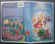 VHS tape black diamond classic THE LITTLE MERMAID model 913