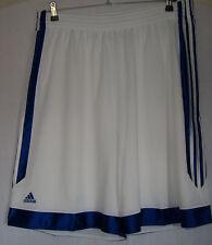 adidas  Basketball-Hose   weiß-blau  Größe 3XL