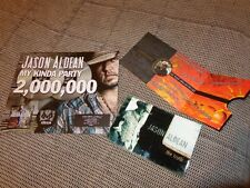 Jason Aldean *GIANT CMA Voter Card+ACM Top New Male Voter Card+Voter Postcard!