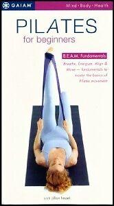 Gaiam Pilates For Beginners BEAM Fundamentals VHS Videp